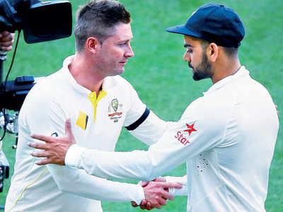 Aus a big captaincy test for genius batsman Virat