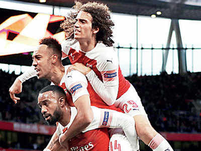 Arsenal's Europa victory over Valencia marred by incidents involving racist fans