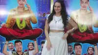 Sonakshi Sinha promotes her upcoming movie 'Khandaani Shafakhana'