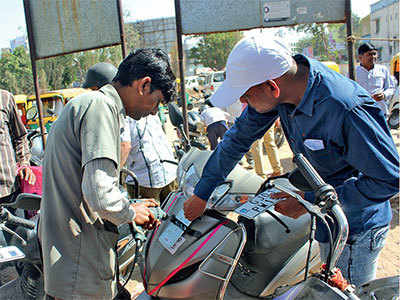 RTO goof-up: Most dealers refuse to fit HSRP on old bikes, scooters, cars