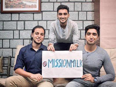 The Goodzillas-3: Sharing the milk  of human kindness