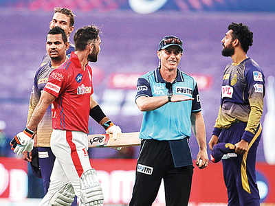 After being in cruise mode, KXIP lose by a 'few inches'