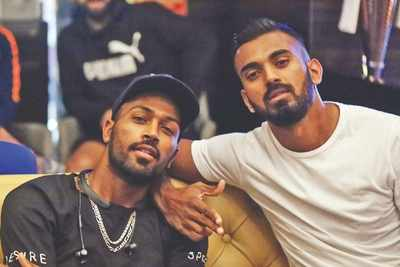 BCCI considers two-match ban on Hardik Pandya, KL Rahul likely to escape with warning
