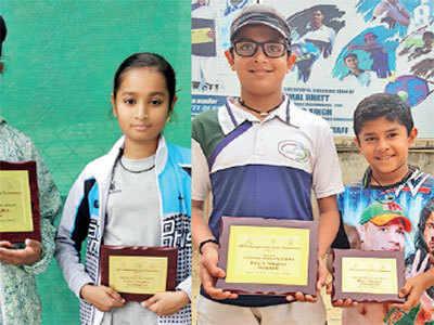 Under-12 AITA Championship Series: Saumitra Verma, Yagna Patel crowned champions