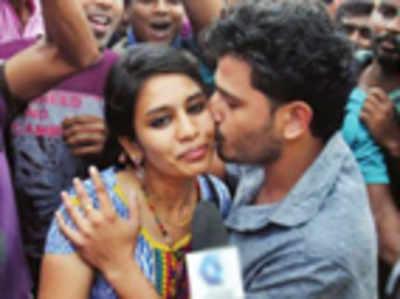 No kissing in Kannada