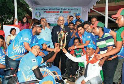 SACHIN TENDULKAR COMES TO RESCUE OF WHEELCHAIR CRICKET TEAM, PROVIDES FINANCIAL AID FOR BANGLADESH TOUR