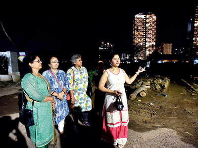 Women unite under United Balewadi Residents' Association of Women banner to make streets safer