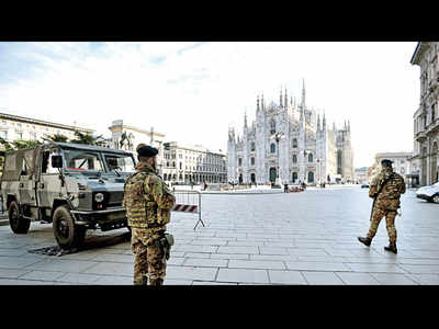 Italy put 15 million under lockdown