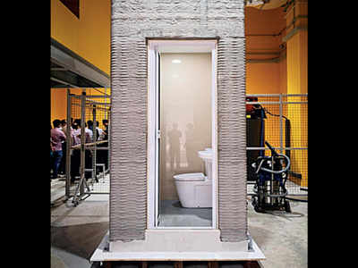 Researchers 3D print bathroom in a day