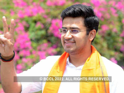 Bengaluru MP Tejasvi Surya tests negative for COVID-19 after meeting infected doctor