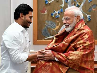 YS Jagan Mohan Reddy meets PM Narendra Modi with a long wish list, invites him for farmers aid launch