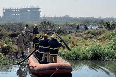 NGT fumes over Bellandur fumes