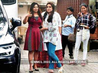 Before lockdown, Juhi Chawla spotted in Bandra