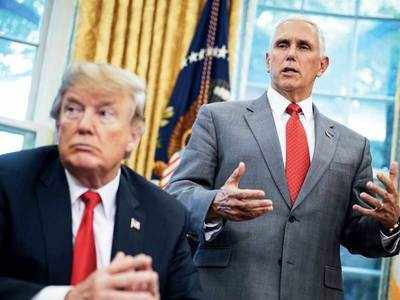 Pence denies discussing plan to remove prez Trump