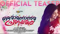 Onnonnara Pranayakadha - Official Teaser