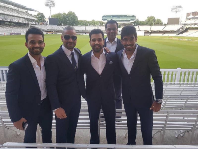Men in Blue enjoy a break before their semi-final clash against Bangladesh