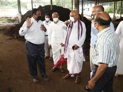 Tirumala hill shrine gets licence to sell fertiliser made from waste