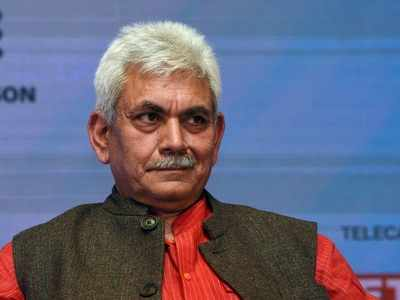 BJP leader Manoj Sinha appointed Lieutenant Governor of Jammu and Kashmir