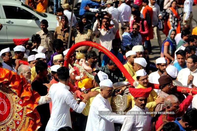 Photos: Ganesh Chaturthi 2018: Pune's 'Manache Ganpati' lead celebrations in the city