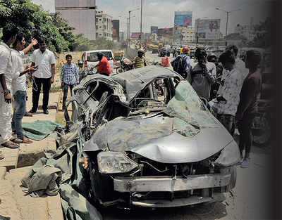 Bengaluru: In 4 yrs, 3250 died in road accidents