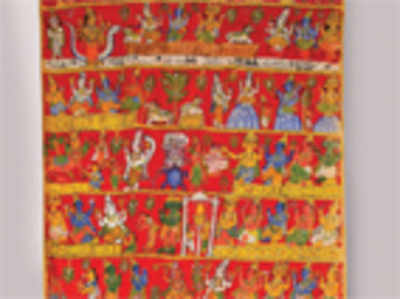 Patachitras: the appropriation of Indian folk art