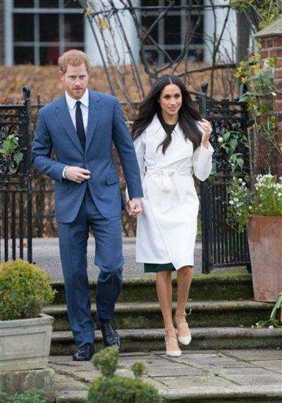 Prince Harry and American actress and model Meghan Markle announce engagement