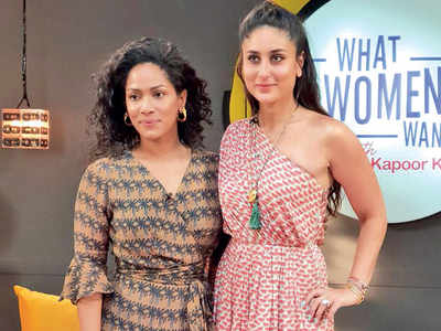 Girl talk for Kareena Kapoor, Masaba Gupta