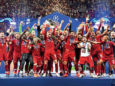 Liverpool, the new title holders of the Champions League