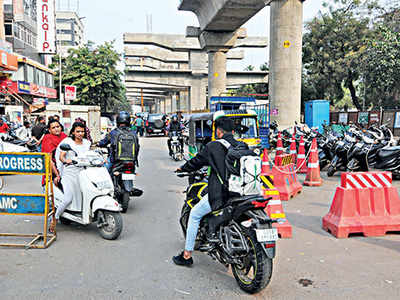 No end to city's traffic woes