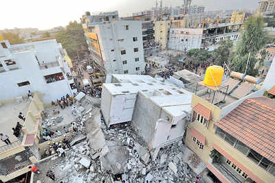 Building collapse: Two BBMP engineers get bail