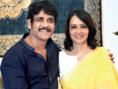 Nagarjuna Akkineni's birthday wishes for wife Amala
