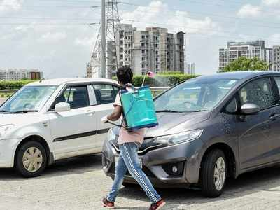 Silencer stolen from car parked inside a society in Ahmedabad