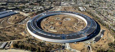 Apple's 'spaceship' headquarters readies for boarding