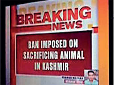 Fake News Buster: Animal sacrifice not banned in Kashmir