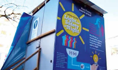 Pee-power to light up refugee camps