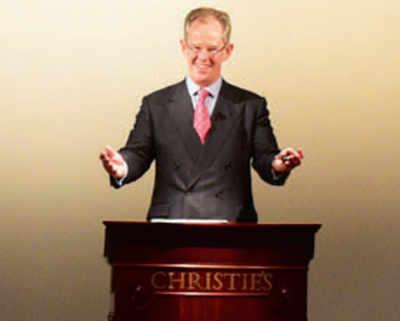 Christie's downsizes, cancels auction