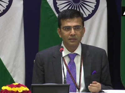 Criticism of envoys visit to Jammu and Kashmir unfounded: MEA