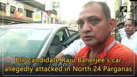 BJP candidate Raju Banerjee's car allegedly attacked in North 24 Parganas