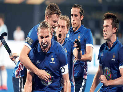 France beat Argentina 5-3 in final Pool A match, Spain eliminated