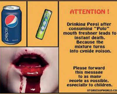 Fake News Buster: Drinking pepsi after eating polo leads to instant death?