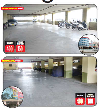 Multi-level parking lots in Bengaluru hardly see any vehicles: The ghost storeys