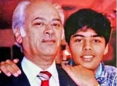 Karan Johar pens an emotional note for father Yash Johar