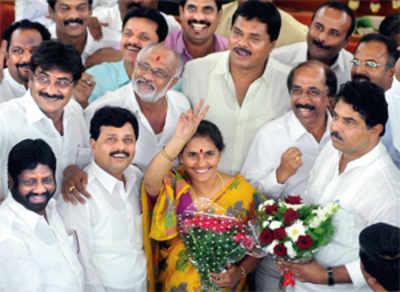 City gets a woman Mayor in Shanthakumari