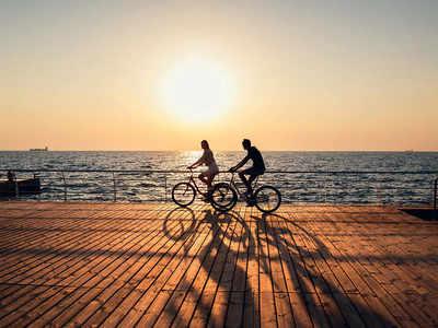 Go on a coastal ride