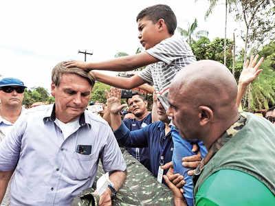 Brazil protests, seeks prez's impeachment