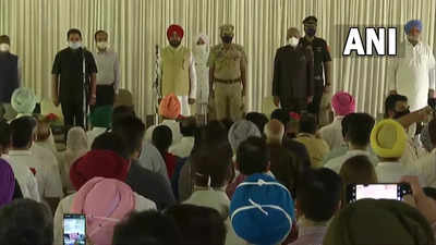 Punjab cabinet expansion live updates: 15 MLAs take oath as ministers