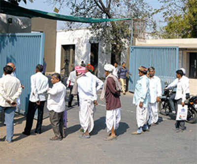 Queue ki… visitors to HC don't know of click, fill, enter facility