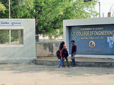 Two LDCE students bag highest pay package of Rs 12 lakh