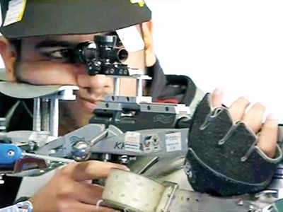 Tomar surprises all, wins rifle 50m 3P gold
