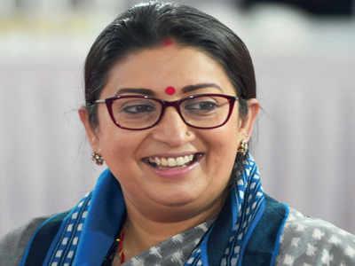Professor held for making derogatory remarks against Smriti Irani